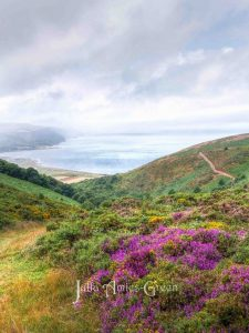 Autumn on Exmoor on the South West Coastal Path
