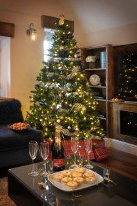 Stone Barn Christmas tree