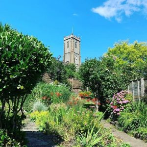Pilgrim Corner's Garden – almost in the shadows of St. Michael's Church