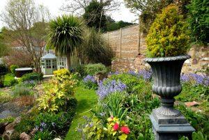 Pilgrim Corner garden view