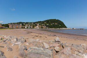 The beach at Minehead